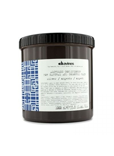 Davines Alchemic Conditioner Silver 1000 Ml Renksiz